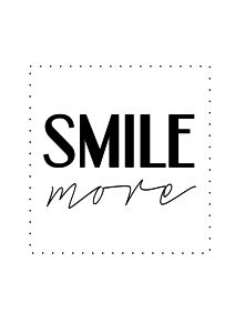 plakat smile more