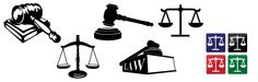 Free law related vector images