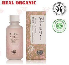 Whamisa Organic Flowers Toner Deep Rich (120 ml) K-beauty