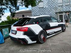 Audi stripes decal