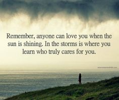 Lessons Learned in Life | Who cares for you.