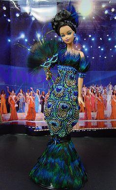 OOAK Barbie NiniMomo's Miss New Orleans 2007