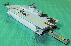 future warships concepts | Displaying (14) Gallery Images For Chinese Aircraft Carrier Catamaran ...