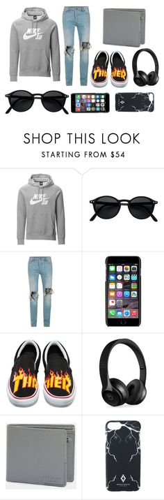 """#repostset"" by olsarexha ❤ liked on Polyvore featuring NIKE, Izipizi, Topman, Dolce&Gabbana, Vans, Beats by Dr. Dre, Ted Baker, Marcelo Burlon, men's fashion and menswear"
