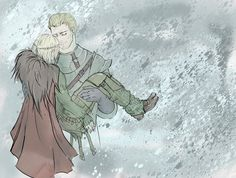 I still think they should have shown that in DA:I if you romance Cullen. Who else would have rescued you up in the mountains?