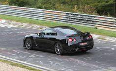 Nissan GTR at the Nurburgring