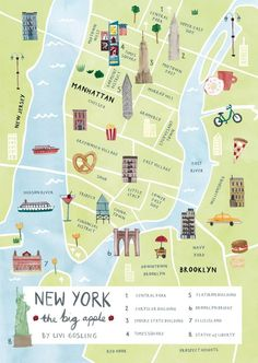 New York Illustrated Map & New York Print & New York Map Poster Map of the LUC area/ Chicago with all the places I've been labeled The post New York Illustrated Map & New York Print & New York Map Poster & New York City Love appeared first on New . New York Tourist, New York City Vacation, New York City Map, New York City Travel, City Maps, New York Maps, Ny Map, New York Travel Guide, London Travel