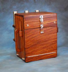 Wooden Fishing Tackle Box