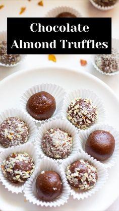 Mini Desserts, Summer Desserts, Christmas Desserts, Mini Chocolate Desserts, Chocolate Truffles, Christmas Recipes, Easy Desserts, Gluten Free Desserts, Dairy Free Recipes