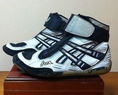 0c2fbafa3ae Asics Lyteflex Supreme 1 Wrestling shoes - White Black - Size 9 Asics
