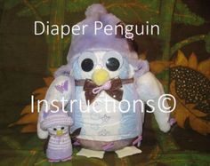 Learn to make a DIAPER CATERPILLAR from by DiaperZooDesigns