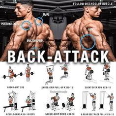 back- attack