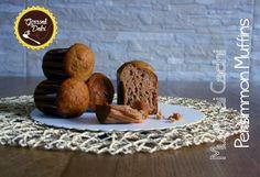 Muffin ai Cachi [senza burro] Muffins, Cupcake, Breakfast, Recipes, Food, Morning Coffee, Muffin, Cupcakes, Eten
