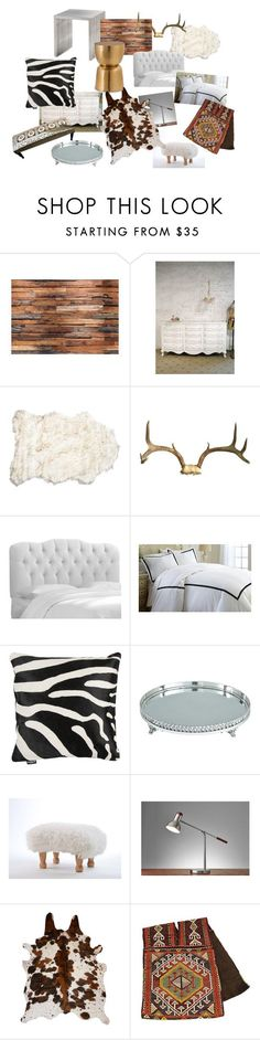 """My bedroom decor inspiration"" by rania-abdulla on Polyvore featuring interior, interiors, interior design, home, home decor, interior decorating, Skyline, Amara, Bradburn Gallery and Adesso"