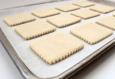 Basic Sugar Cookie Recipe from Sweet Sugar Belle. I made this with the kids at camp this summer and they turned out so well! I love that the dough doesn't need to be chilled before rolling and cutting. Very easy and versatile.