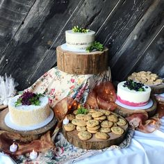 Cakes, Cookies, Rice Crispy Treats, and Cake Pops. We love weddings that cater to all tastebuds! Santa Cruz, CA. Cakes & Desserts: Buttercup Cakes Venue: The Mill Site Catering Logo, Catering Display, Vegan Cupcakes, Vegan Cake, Vegan Wedding Cake, Wedding Cakes, East London Restaurants, Vegan Victoria Sponge, Frosting Flowers