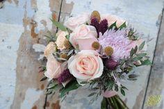 Bouquet de novia de rosas Mayula Flores Zaragoza