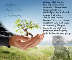 Native American Wisdom.....