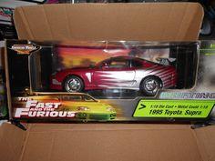 Fast & Furious Toyota Supra Lila ERTL 1/18 1:18 Sehr selten!!!   eBay