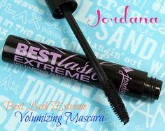 Jordana Best Lash Extreme Volumizing Mascara, Retails For Only $2.99!!
