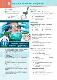 ESP English for Specific Purposes - Career Paths: Dentistry - Sample Page 3