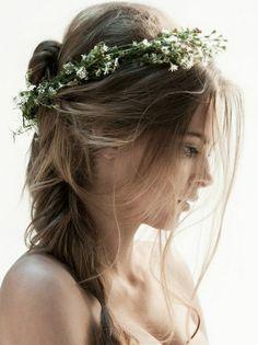 Aww, anything in hair is freaking cute.