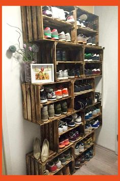 Diy Closet Shoe Storage - Diy Closet Shoe Storage , tomcare 10 Tier Shoe Rack 50 Pairs Shoe organizer Shoes Storage Shoe Shelf Shoe tower No tools Required Non Woven Fabric for Home Bedroom Black Shoe Storage Design, Diy Shoe Storage, Diy Shoe Rack, Diy Garage Storage, Rack Design, Craft Room Storage, Creative Storage, Closet Storage, Shoe Racks