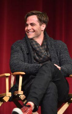Chris Pine Photos: 'Into the Woods' Q&A in Beverly Hills