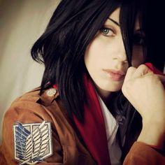 Mikasa Ackerman cosplay (Attack on Titan)