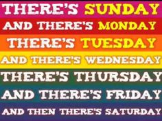 ▶ Days of the Week clap clap!) [to the tune of the Addams Family] - YouTube