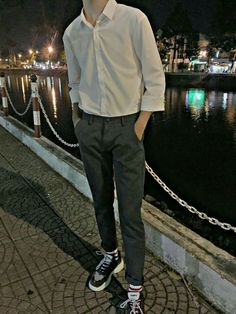 | Lấy = Follow | #Kye Korean Fashion Men, Korean Street Fashion, Ulzzang Fashion, Korean Men, Boy Fashion, Grunge Outfits, Classy Outfits, Casual Outfits, Outfits Hombre