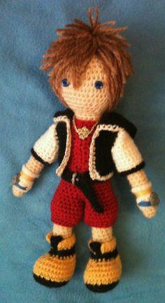 Kingdom Hearts Free Crochet Patterns : KINGDOM HEARTS CROCHET PATTERNS ? Free Crochet Patterns