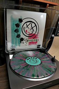 Blink 182- coloured vinyls are the best
