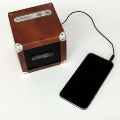 Buy Deluxe Smartphone Speaker from The Letteroom: The ultimate Speaker - and comes ready made with a luxury finish. Quirky Products, Mp3 Player, Smartphone, It Is Finished, Luxury