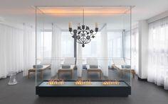 Ruheraum Cocoon des Kameha Spa & Fitness Power House in Zürich