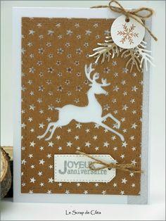 Carte de voeux/joyeux anniversaire au renne