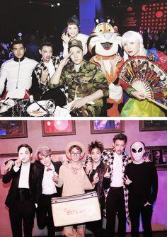 EXO & Super Junior @ SMTOWN Halloween Party