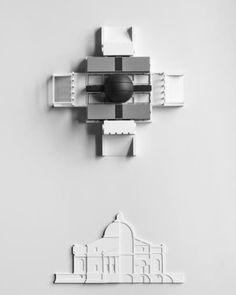 """Palladio Virtuel,"" an exhibition by Prof. Peter Eisenman"