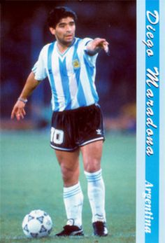 Maradona used his foot speed, technique, passing abilities, and his vision to propel him to the top of the soccer ranks when he played. He wouldn't over power you, but he would outwork you in the end.    Diego scored 311 goals in his pro career, spanning from 1976 to 1997.