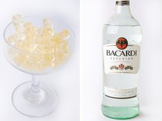 Candy and cocktails. Not just cocktail-flavored candies, but sweet little chewy guys, full of actual spirits and the classic flavors of the mixed drink that inspired them. In short: Best. DIY Project. Ever.