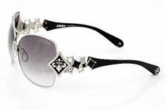 Affliction Angelina Sunglasses Silver/Black Shades Affliction. $185.75. Save 32%!