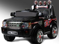 Land Rover - elektrické auto pre deti
