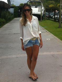 Simonis Modas: TENDÊNCIA SHORTINHO JEANS! Denim short jeans