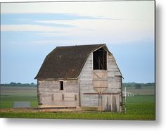 Yale Barn Metal Print By Bonfire #Photography
