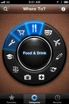 21 iPhone Food Apps to Eat Your Heart Out Iphone Ui, Iphone Interface, Best Travel Apps, Travel Tips, Web Design, Graphic Design, Iphone App Design, Ui Patterns, App Design Inspiration