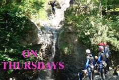Breathtaking canyoning in Lake Maggiore's Valleys  Breathtaking canyoning in Lake Maggiore's Valleys  Canyoning: the descent of torrents with suggestive succession of ravines, natural pools and slides, deep in water with wetsuit, helmet and harness,   followed step by step  by the fantastic mountain guides Davide and Giuseppe.  For information and reservations please http://activitieslakemaggiore.com/where-when-how/breathtaking-canyoning-lake-maggiore-valleys/