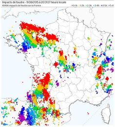Le seuil des 40.000 éclairs est à présent dépassé depuis 14h30 cet après-midi.