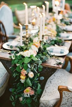 168 best fresh flower table runners weddings images flower table rh pinterest com