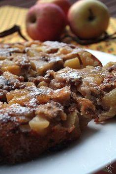Délices d'automne : Gâteau pommes et noix