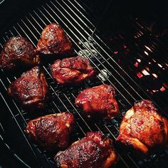 How To Make Kick Ass Smoked Chicken Thighs